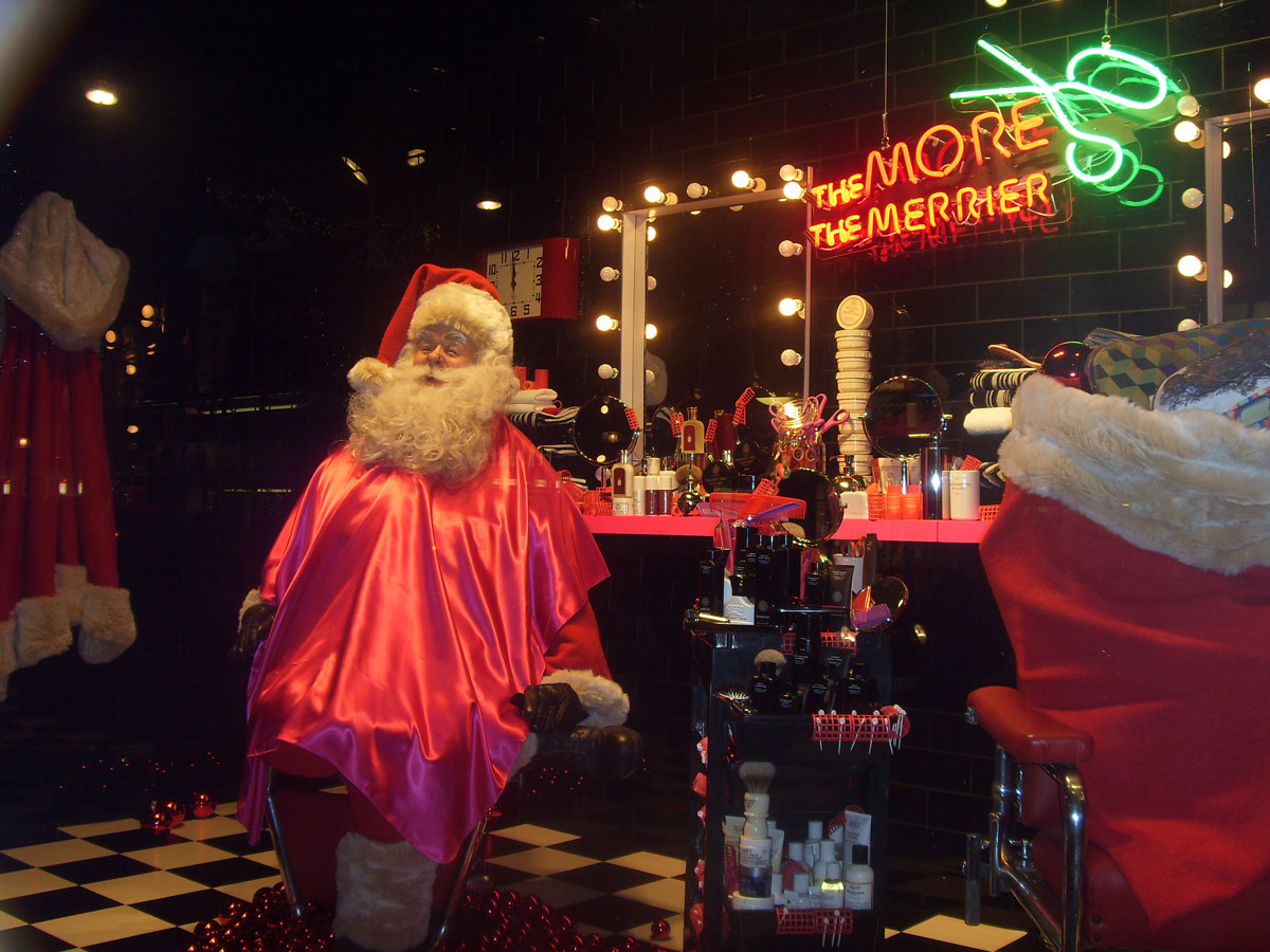 Selfridges Christmas windows 2008